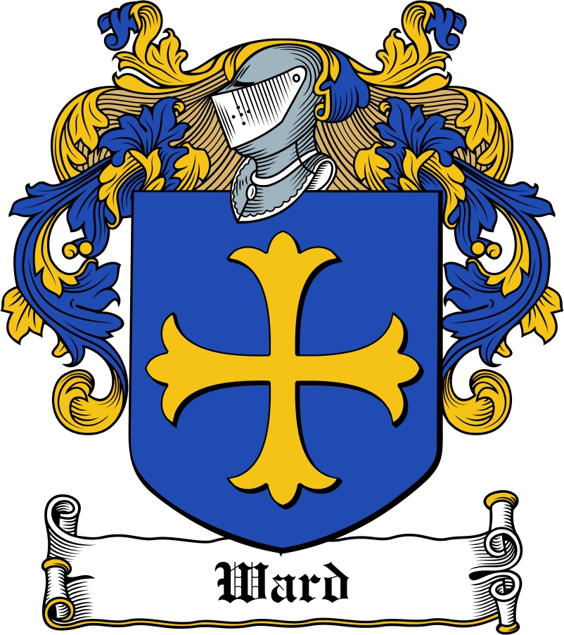 Thumbnail Ward Family Crest / Irish Coat of Arms Image Download