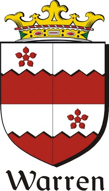 Thumbnail Warren-2 Family Crest / Irish Coat of Arms Image Download