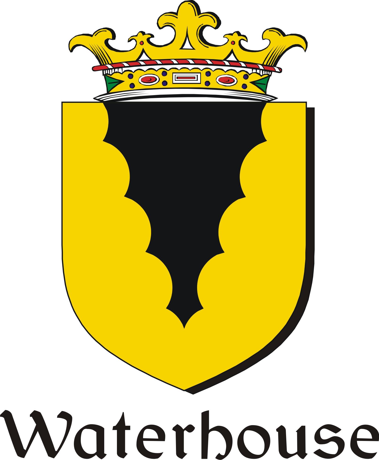 Thumbnail Waterhouse Family Crest / Irish Coat of Arms Image Download