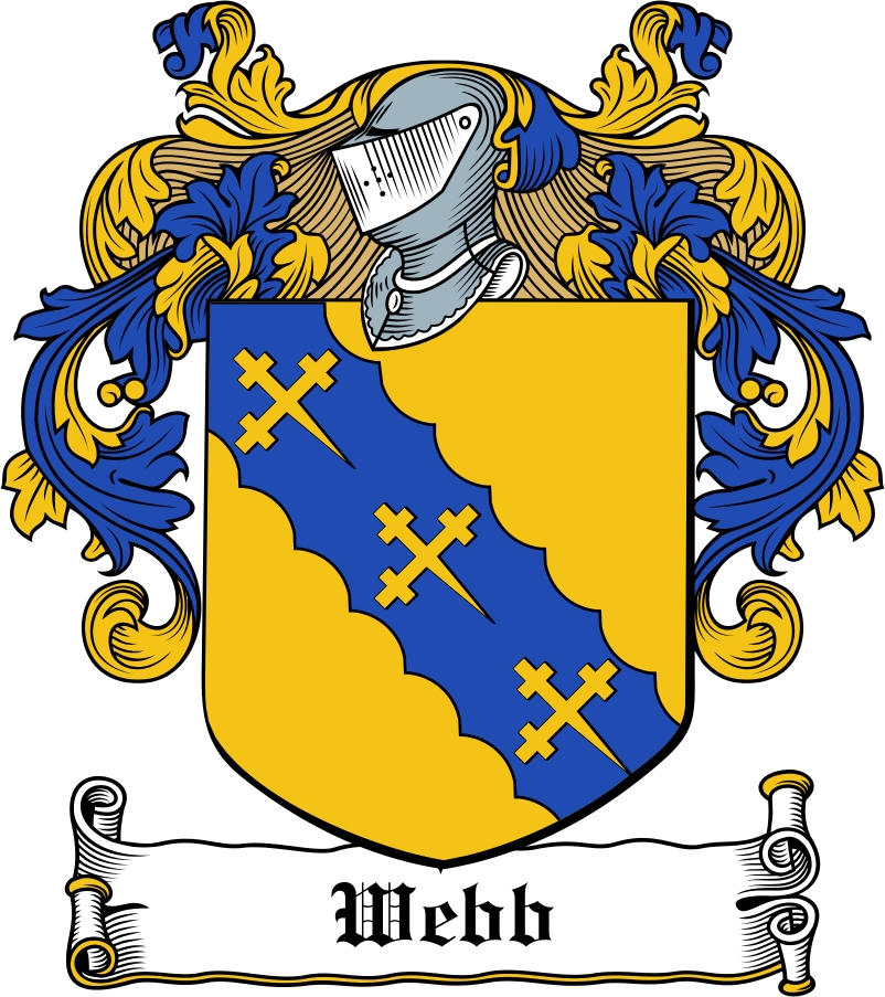 Thumbnail Webb Family Crest / Irish Coat of Arms Image Download