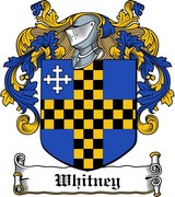 Thumbnail Whitney Family Crest / Irish Coat of Arms Image Download