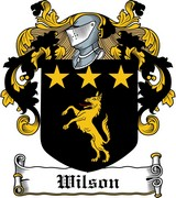 Thumbnail Wilson Family Crest / Irish Coat of Arms Image Download