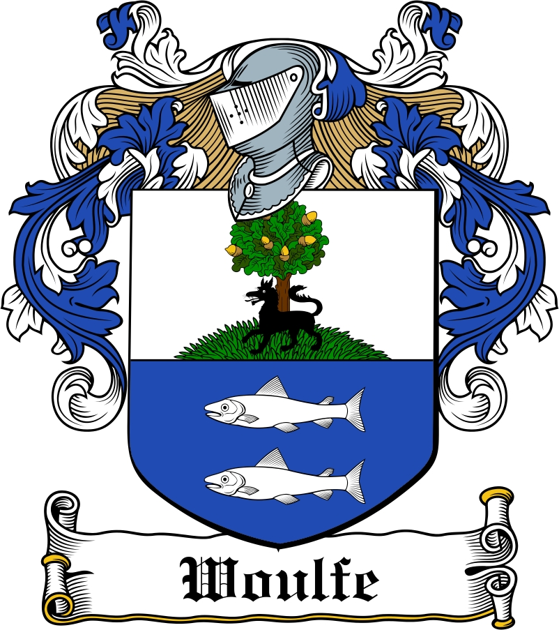 Thumbnail Woulfe Family Crest / Irish Coat of Arms Image Download