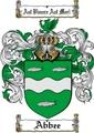 Thumbnail Abbee Family Crest  Abbee Coat of Arms
