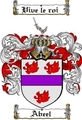 Thumbnail Abeel Family Crest  Abeel Coat of Arms