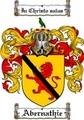 Thumbnail Abernathie Family Crest  Abernathie Coat of Arms