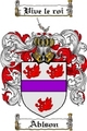 Thumbnail Ablson Family Crest Ablson Coat of Arms Digital Download