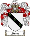 Thumbnail Acres Family Crest  Acres Coat of Arms