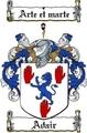 Thumbnail Adair Family Crest  Adair Coat of Arms