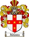 Thumbnail Adams Family Crest / Adams Coat of Arms