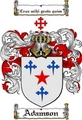Thumbnail Adamson Family Crest  Adamson Coat of Arms