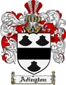 Thumbnail Adington Family Crest Adington Coat of Arms Digital Download
