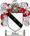 Thumbnail Aiker Family Crest  Aiker Coat of Arms