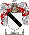 Thumbnail Aikers Family Crest  Aikers Coat of Arms