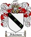 Thumbnail Aikerson Family Crest  Aikerson Coat of Arms
