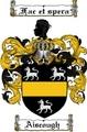 Thumbnail Aiscough Family Crest  Aiscough Coat of Arms