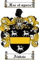 Thumbnail Aiskew Family Crest Aiskew Coat of Arms Digital Download