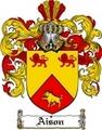 Thumbnail Aison Family Crest  Aison Coat of Arms