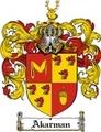 Thumbnail Akarman Family Crest  Akarman Coat of Arms
