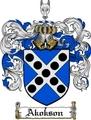 Thumbnail Akokson Family Crest  Akokson Coat of Arms