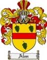 Thumbnail Alan Family Crest  Alan Coat of Arms