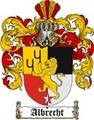 Thumbnail Albrecht Family Crest  Albrecht Coat of Arms