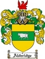 Thumbnail Alderidge Family Crest  Alderidge Coat of Arms