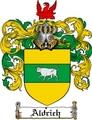 Thumbnail Aldrich Family Crest  Aldrich Coat of Arms