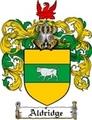 Thumbnail Aldridge Family Crest  Aldridge Coat of Arms