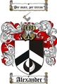 Thumbnail Alexander Family Crest / Alexander Coat of Arms