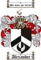 Thumbnail Alexander Family Crest / Alexander Coat of Arms