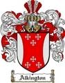 Thumbnail Alkington Family Crest  Alkington Coat of Arms