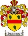 Thumbnail Allanshaw Family Crest  Allanshaw Coat of Arms