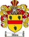 Thumbnail Allen Family Crest / Allen Coat of Arms