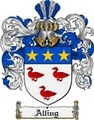 Thumbnail Alling Family Crest  Alling Coat of Arms