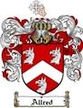 Thumbnail Allred Family Crest  Allred Coat of Arms