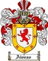 Thumbnail Alonzo Family Crest  Alonzo Coat of Arms