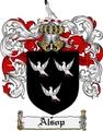 Thumbnail Alsop Family Crest Alsop Coat of Arms Digital Download