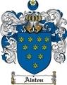 Thumbnail Alston Family Crest  Alston Coat of Arms