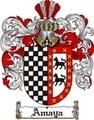 Thumbnail Amaya Family Crest  Amaya Coat of Arms