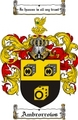 Thumbnail Ambrorrows Family Crest  Ambrorrows Coat of Arms