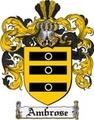 Thumbnail Ambrose Family Crest Ambrose Coat of Arms Digital Download