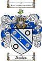 Thumbnail Amies Family Crest  Amies Coat of Arms