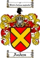Thumbnail Anders Family Crest  Anders Coat of Arms