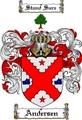 Thumbnail Andersen Family Crest  Andersen Coat of Arms
