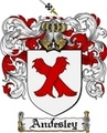 Thumbnail Andesley Family Crest Andesley Coat of Arms Digital Download