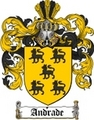 Thumbnail Andrade Family Crest  Andrade Coat of Arms