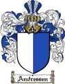 Thumbnail Andressen Family Crest  Andressen Coat of Arms