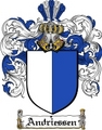 Thumbnail Andriessen Family Crest  Andriessen Coat of Arms