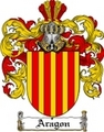 Thumbnail Aragon Family Crest  Aragon Coat of Arms
